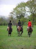 Tre ryttare Royaltyfri Fotografi