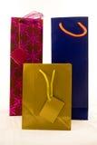 Tre sacchetti del regalo Fotografie Stock Libere da Diritti