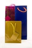 Tre sacchetti del regalo Immagine Stock