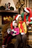 Tre Santa Fotografia Stock