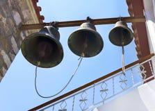 Tre segnalatori acustici Fotografia Stock Libera da Diritti