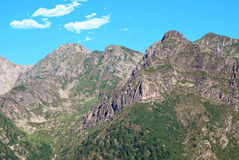 Tre signori mount. The signori mount, in the plateau of avaro, brembana valley Royalty Free Stock Image