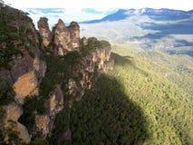 Tre sorelle scogliere in Australia Fotografia Stock Libera da Diritti