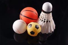 Tre sport Immagine Stock