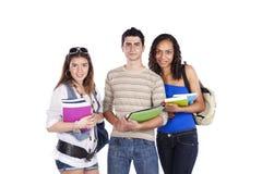 Tre studens adolescenti Fotografia Stock Libera da Diritti
