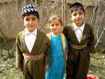 Tre studenter royaltyfri bild