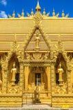 Tre supporto-dorati-Budda immagini stock libere da diritti