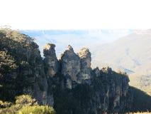 Tre systrar slösar berg Sydney NSW Royaltyfria Foton