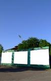 Tre tabelloni per le affissioni in bianco Fotografia Stock Libera da Diritti