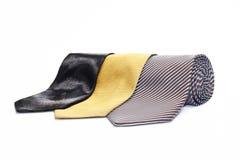 tre ties Royaltyfri Fotografi