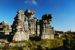 Tre tolleranze, formazioni rocciose Fotografie Stock Libere da Diritti