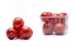 Tre tomater Royaltyfria Bilder