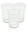 Tre tomma fasetterade exponeringsglas Royaltyfria Foton
