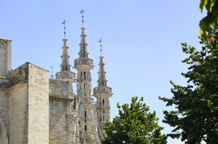 tre torn Fotografering för Bildbyråer
