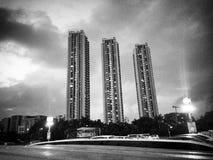 tre torn arkivbild