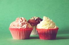 Tre torte Immagini Stock Libere da Diritti