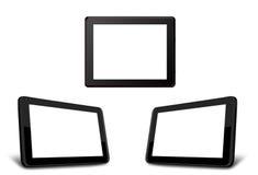Touch screen in bianco Fotografia Stock
