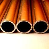 Tre tubi Fotografia Stock