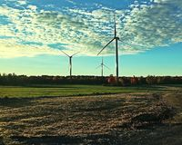 Tre turbiner Royaltyfri Bild