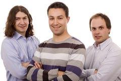 Tre uomini Immagine Stock