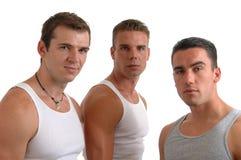 Tre uomini Fotografia Stock