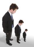 Tre uomini di affari Fotografia Stock Libera da Diritti