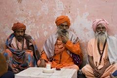 Tre uomini saggi Fotografia Stock