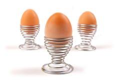 Tre uova Fotografia Stock Libera da Diritti