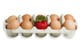 Tre uova Fotografie Stock Libere da Diritti