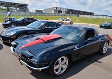 Tre utvecklingar av en Iconic sportbil Royaltyfri Bild