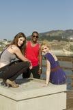 Tre vänner Royaltyfria Bilder