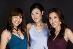 Tre vänner Fotografering för Bildbyråer