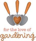 Per l'amore di giardinaggio Fotografia Stock