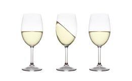 Tre vasi di vetro Fotografia Stock Libera da Diritti
