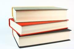 Tre vecchi libri Fotografie Stock Libere da Diritti