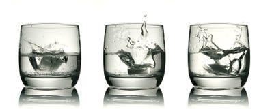 Tre vetri fotografie stock libere da diritti
