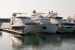 Tre yacht Immagine Stock Libera da Diritti