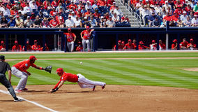 Trea Turner Washington Nationals Shortstop Images stock