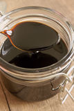 Black Treacle or molasses Royalty Free Stock Photos