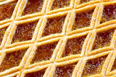 Treacle tart Stock Photography