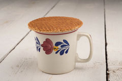 Treacle wafer Royalty Free Stock Photo
