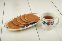 Treacle wafers Royalty Free Stock Image