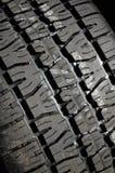 Tread. Macro of rubber tire tread detail Stock Image