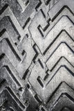 The tread of a car tire Stock Images
