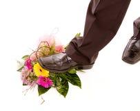 Tread flowers Stock Photo