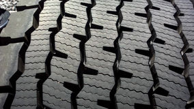 Tread Pattern Royalty Free Stock Photography