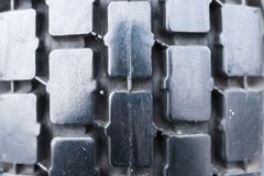 The tread pattern of the tyre, the background texture. For any purpose Royalty Free Stock Photos