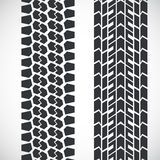 Tread pattern tyre Royalty Free Stock Photos