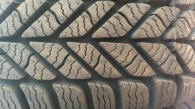 Tread. Rubber tread pattern Royalty Free Stock Image