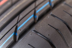 Tread tires and wheels Royalty Free Stock Image